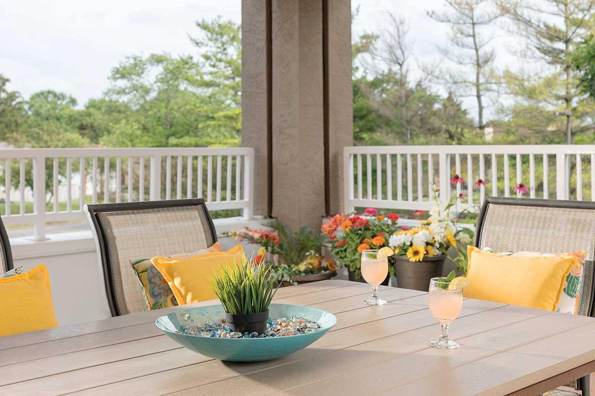 Balcony views   Westerwood